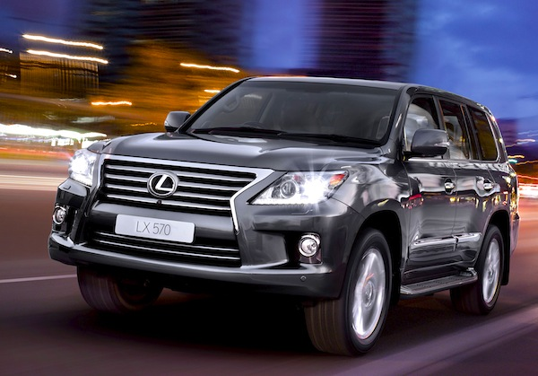 Lexus LX Oman January 2013