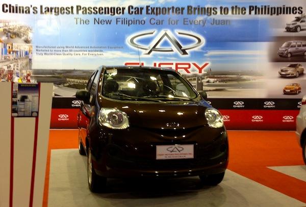 Manila Auto Show Chery1