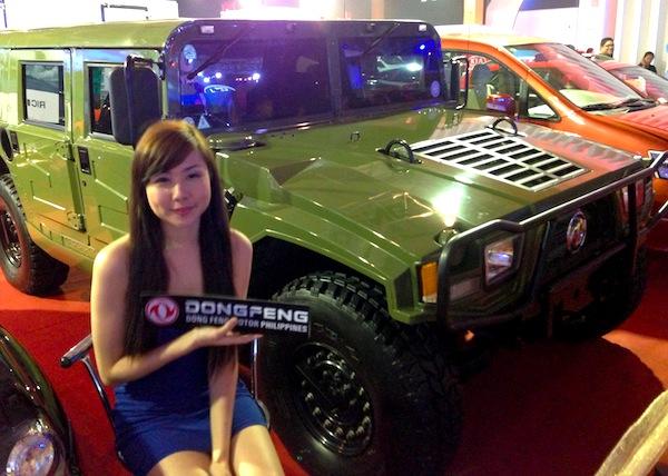 Manila Auto Show DongFeng4