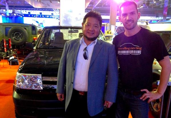 Manila Auto Show DongFeng5
