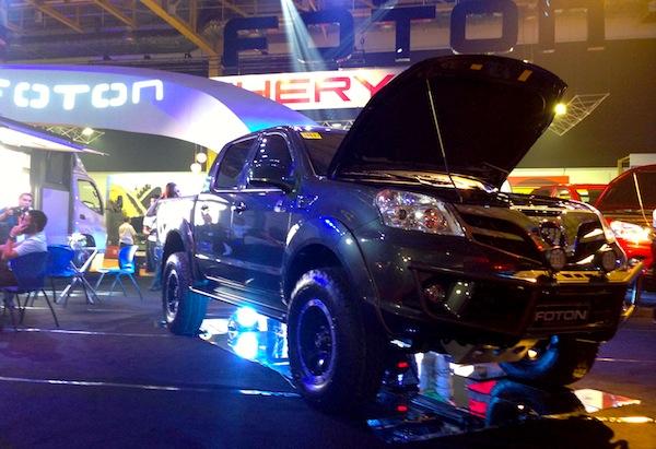 Manila Auto Show Foton