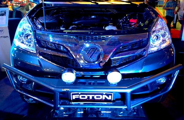 Manila Auto Show Foton2