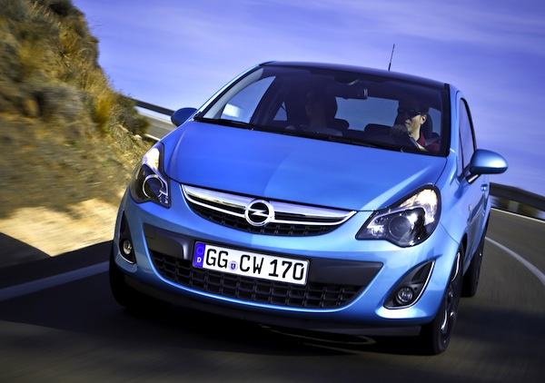 Opel Corsa Spain March 2013