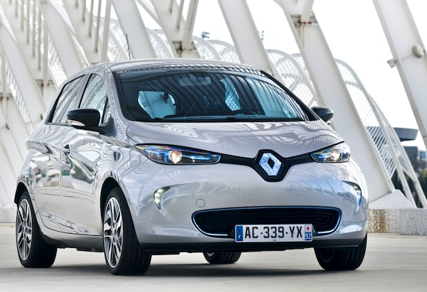 Renault Zoe France March 2013