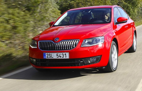 Skoda Octavia Germany March 2013