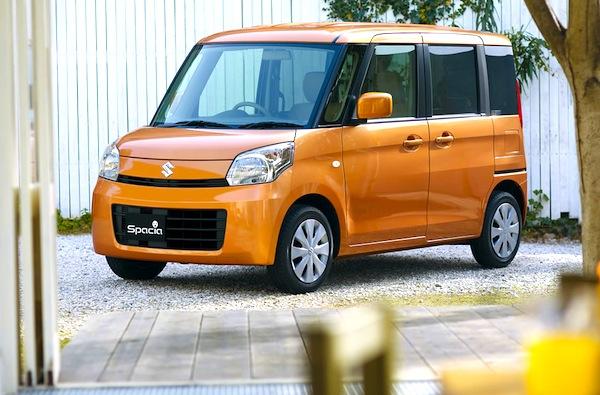 Japan Kei cars March 2013: Suzuki Spacia lands in 9th ...