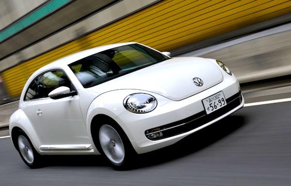 VW Beetle Japan June 2014