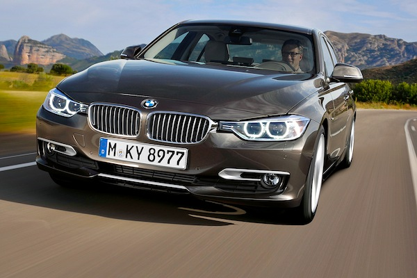 BMW 3 Series Sweden January 2014