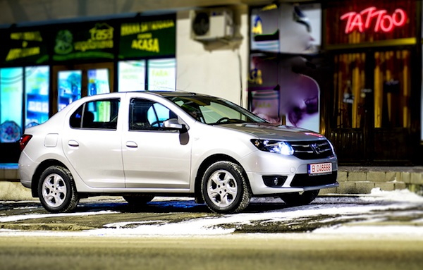 Dacia Logan Romania 2015. Picture courtesy of www.autoevolution