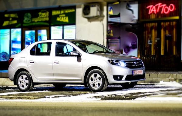 Dacia Logan Romania 2015. Picture courtesy of www.autoevolution