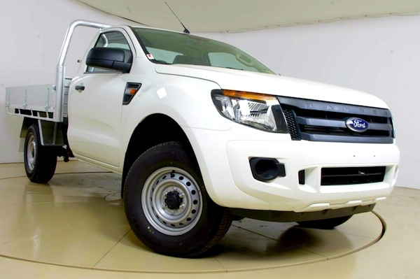 Ford Ranger Australia April 2013