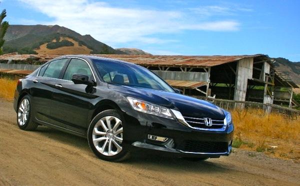 Honda Accord California March 2013. Picture courtesy of autos.sympatico.ca