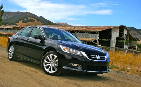 California USA Q1 2013 Honda Accord Best Selling Unique Model