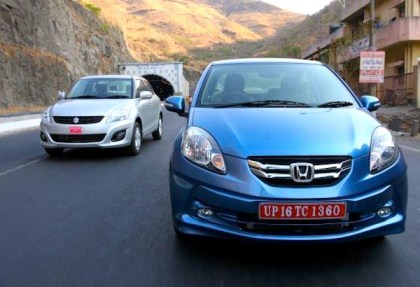 Honda Amaze. Picture courtesy of Honda