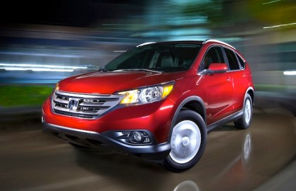 Honda CR-V. Picture courtesy of netcarshow
