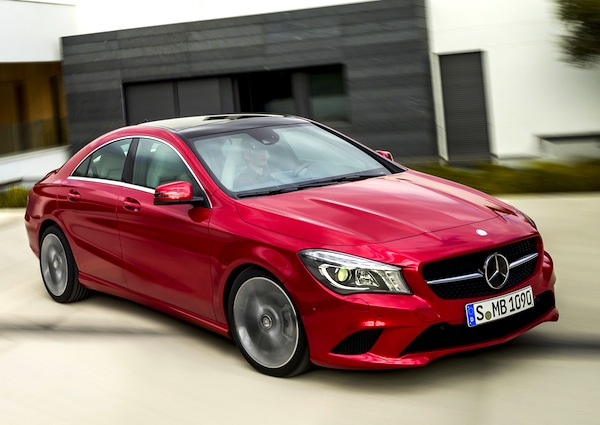 Mercedes CLA Germany April 2013