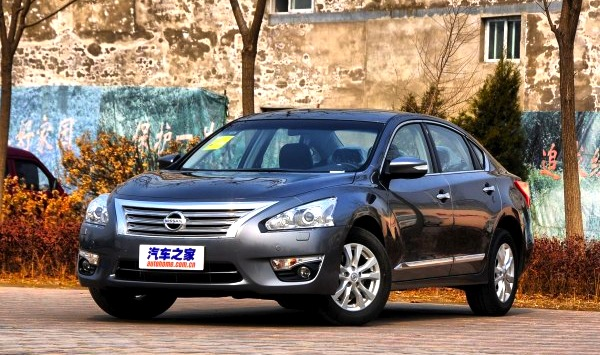 Nissan Teana China April 2013. Picture courtesy of autohome.com.cn