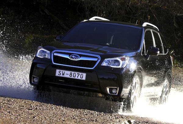 Subaru Forester Estonia April 2013