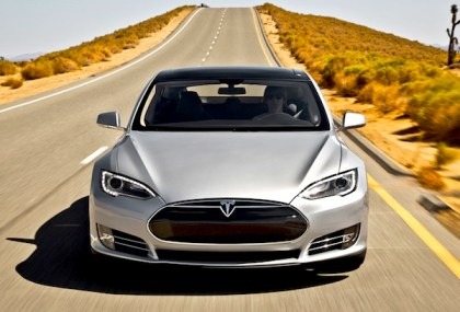 Tesla Model S. Picture courtesy of Motor Trend