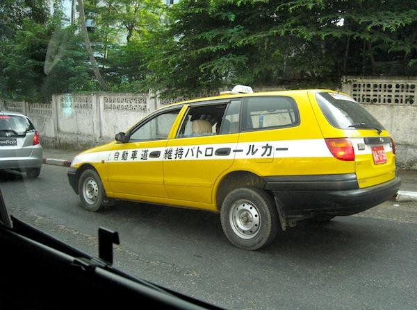 Toyota Carina Yangon 2012a. Picture by Ryusuke Ikeda