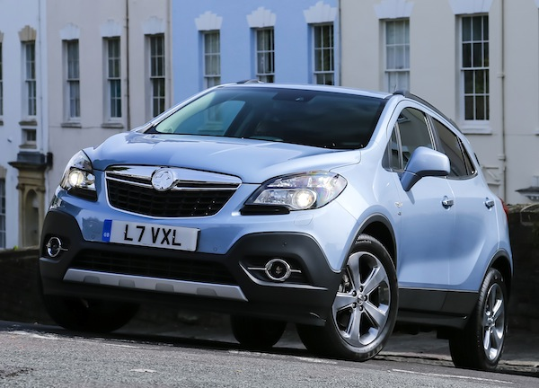 Vauxhall Mokka UK March 2013