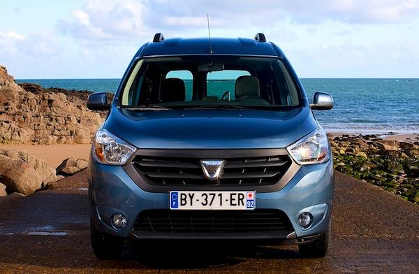 Dacia Dokker Bulgaria May 2013