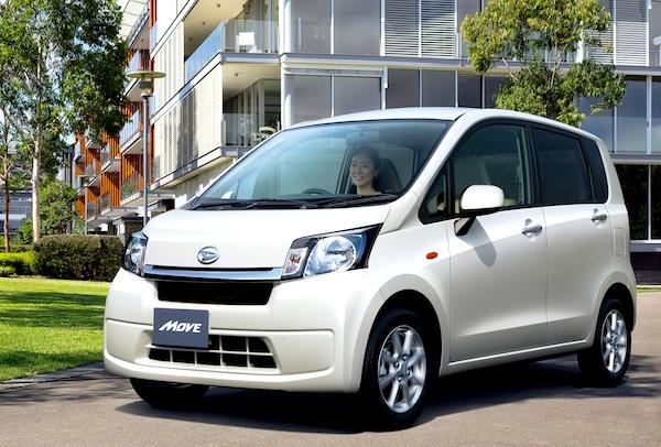 Daihatsu Move Japan May 2013