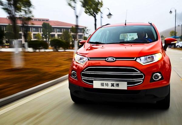 Ford Ecosport China May 2013