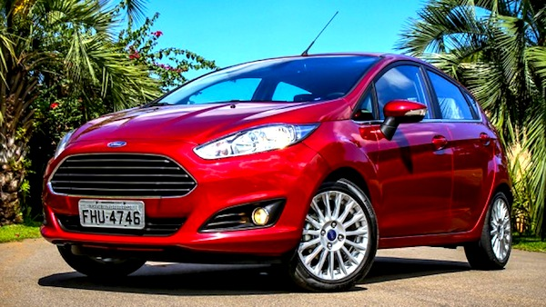 Ford Fiesta Brazil May 2013. Picture courtesy of blogauto.com.br