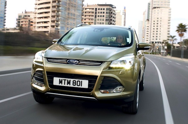 Ford Kuga Malaysia May 2013
