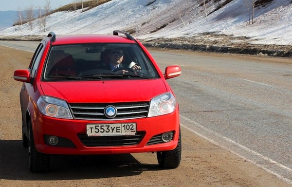 Geely MK Cross Russia May 2013. Picture courtesy of drive2.ru