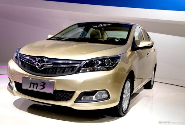Haima M3 China May 2013