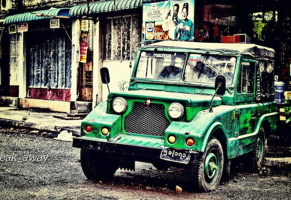Mazda Pathfinder Burma