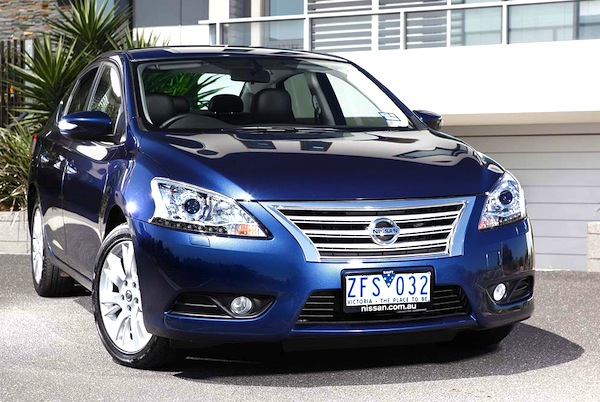 Nissan Pulsar. Picture courtesy of drive.com.au