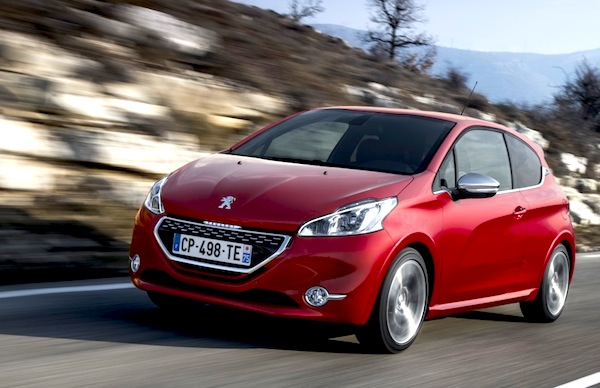 Peugeot 208 Europe May 2013