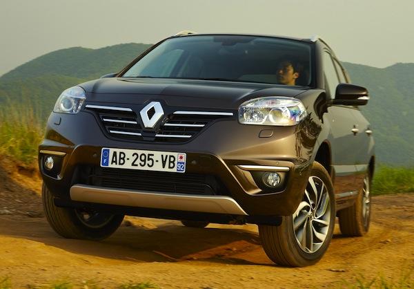 Renault Koleos World May 2013