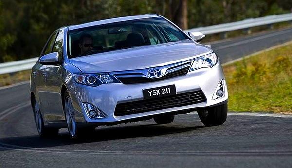 Toyota Camry Australia June 2013