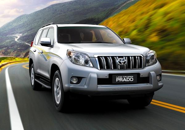 Toyota Land Cruiser 150 Iceland May 2013