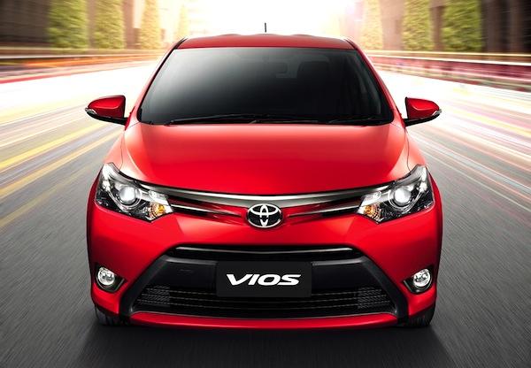 Toyota Vios Thailand May 2013