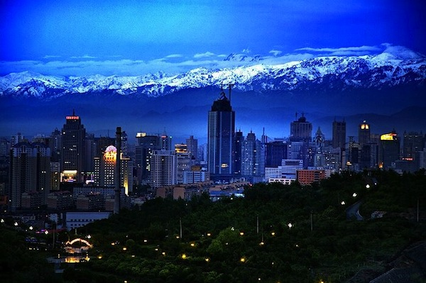 Urumqi China. Picture courtesy of 17u.com