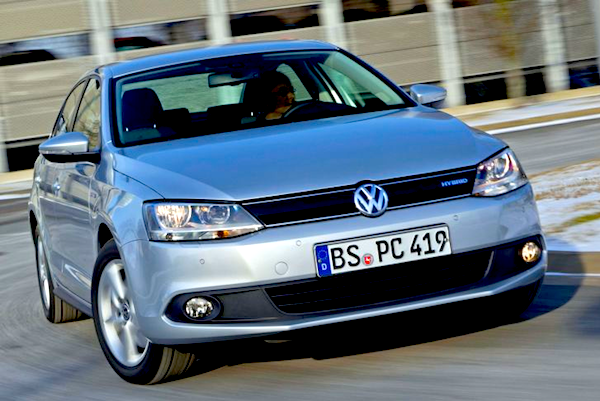 VW Jetta Germany June 2013. Picture courtesy of Auto Bild