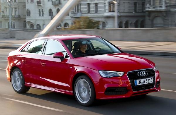 Audi A3 Sedan World June 2013