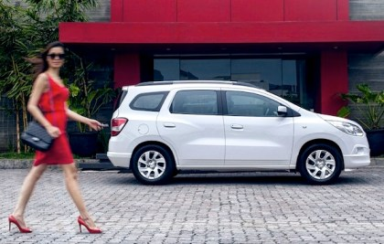 Chevrolet Spin. Picture courtesy of Chevrolet