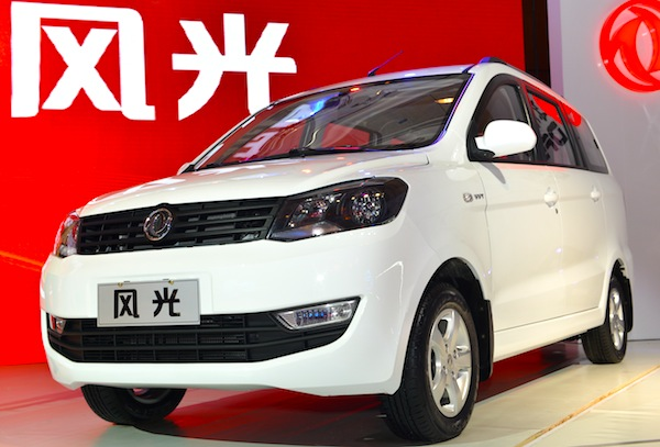 Dongfeng Fengguang China June 2013. Picture courtesy of yuanchina.com