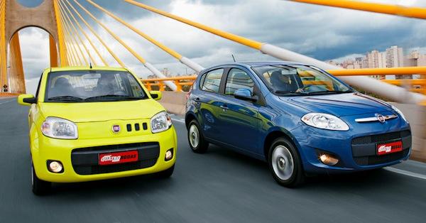 Fiat Uno Palio Brazil June 2013. Picture courtesy of Quatrorodas.abril.com.br