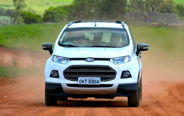 Ford Ecosport Argentina July 2014