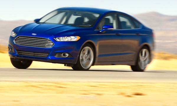 Ford Fusion USA June 2013