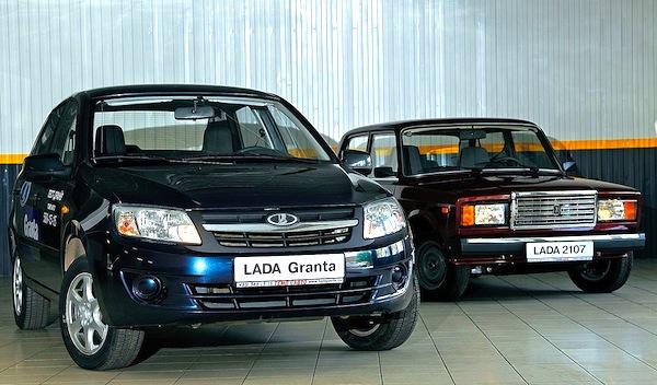 Lada Granta 2107 Russia June 2013