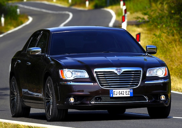 Lancia Thema Italy June 2013