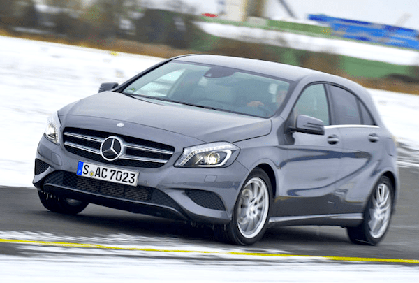 Mercedes A-Class Germany September 2013. Picture courtesy of Auto Bild